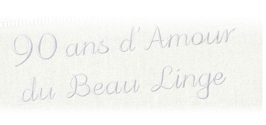 90 ans d'Amour du Beau Linge