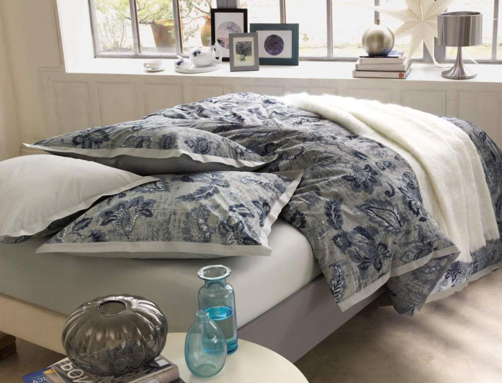 linge de lit bleu batik. Black Bedroom Furniture Sets. Home Design Ideas