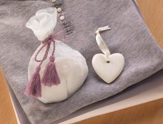 5 coeurs céramique Collines de Provence