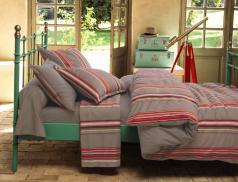 Linge de lit satin Du côté d'Espelette