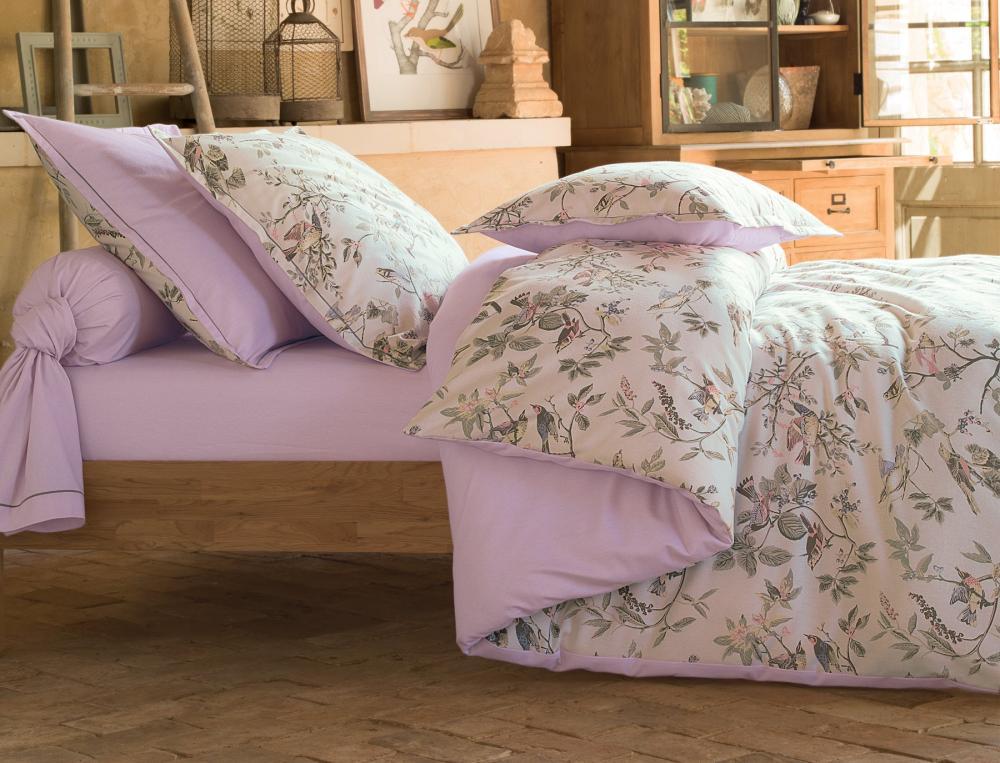Linge de lit g tinais - Parure de lit en flanelle 2 personnes ...