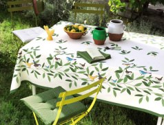 Nappe d couvrez toutes les nappes linvosges - Nappe de jardin ...