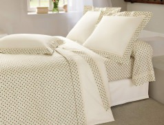 Linge de lit Juliette percale 100% coton