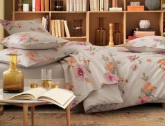 Linge de lit Légendes d'automne percale 100% coton