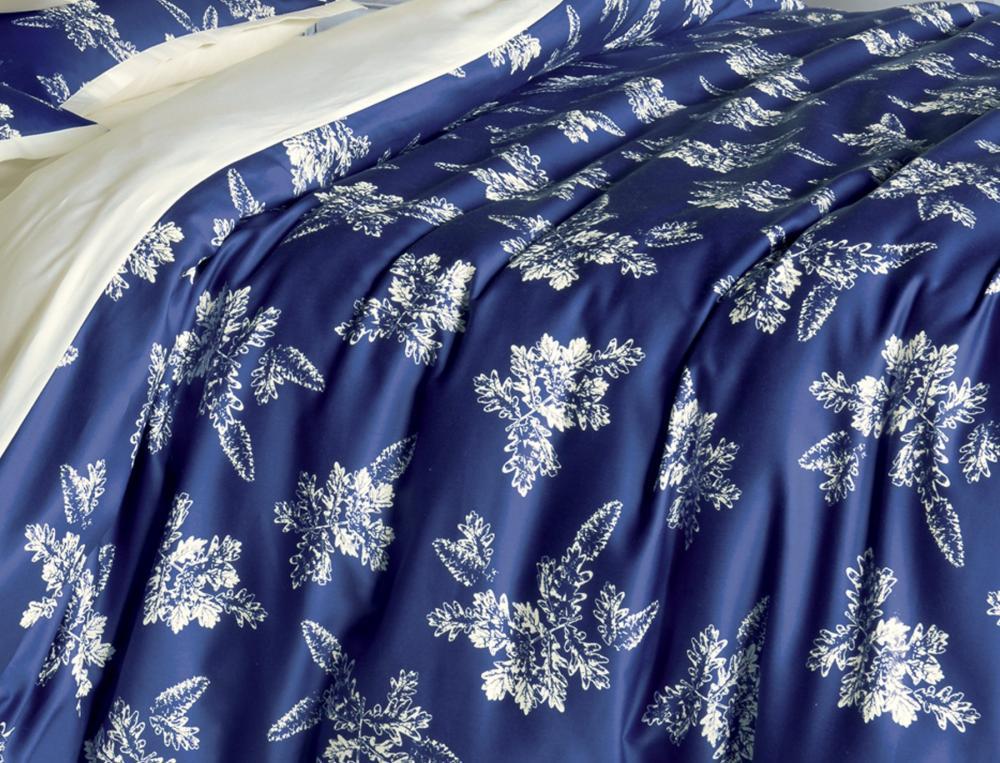 linge de lit bleu de minuit. Black Bedroom Furniture Sets. Home Design Ideas
