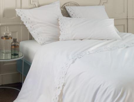 Linge de lit haute couture - Chambre de la haute couture ...