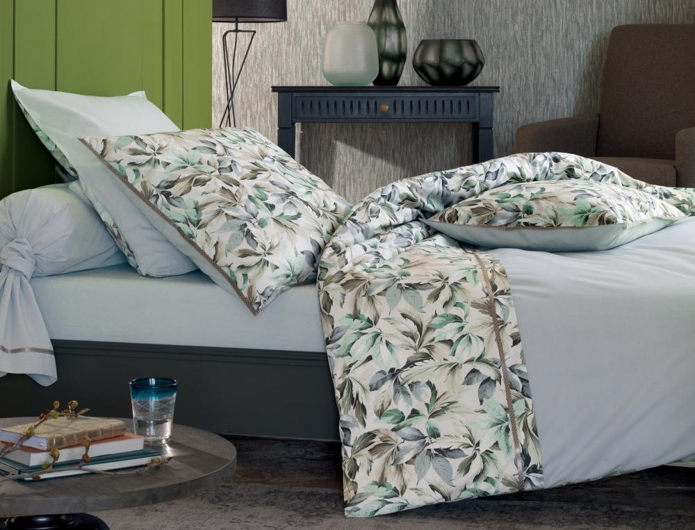 linge de lit panache givr. Black Bedroom Furniture Sets. Home Design Ideas