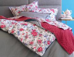 Linge de lit percale 100% coton Princesse de Galles