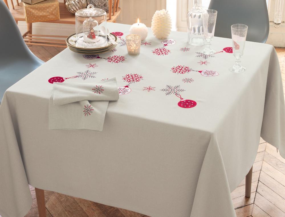 Linge de table linvosges for Nappe de cuisine