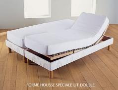 Protège-matelas coton Molleton 400g/m² aegis