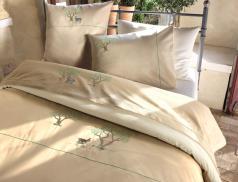 Linge de lit Restonica percale 100% coton