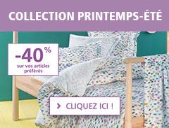 Collection printempts-été 2017 : -40% sur vos articles préférés