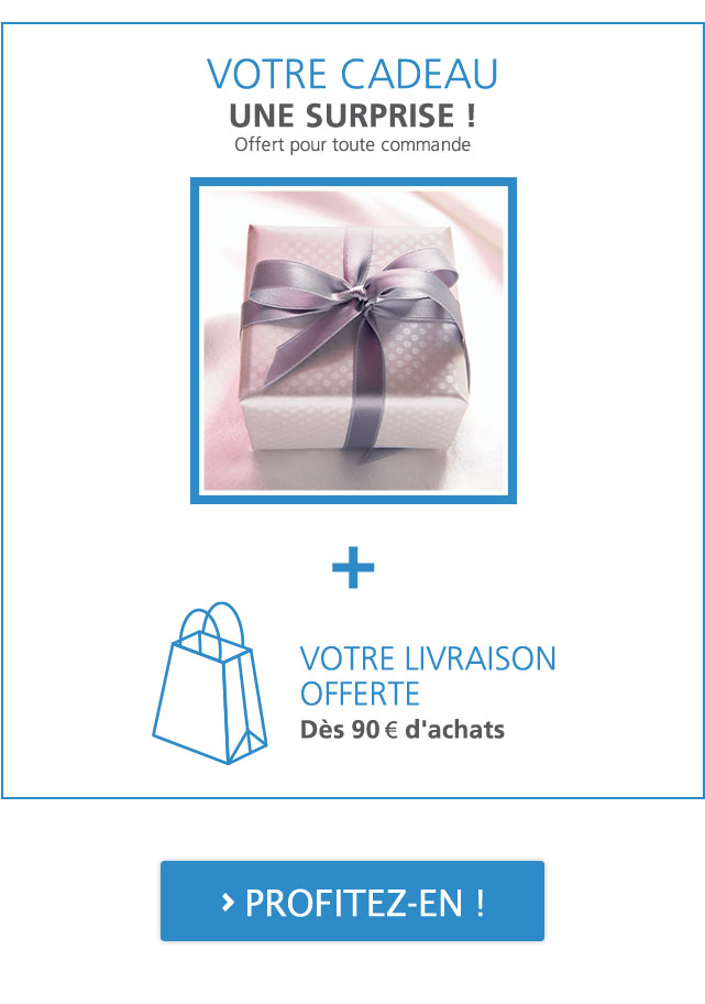 Votre Cadeau OFFERT pour toute commande chez Linvosges