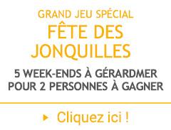 La fête des Jonquilles 2017 chez Linvosges : 5 week-ends à Gérardmer pour 2 personnes à gagner