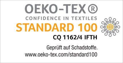OEKO-TEX confidence in textitles standard 100