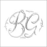 Broderie monogramme modèle Garance