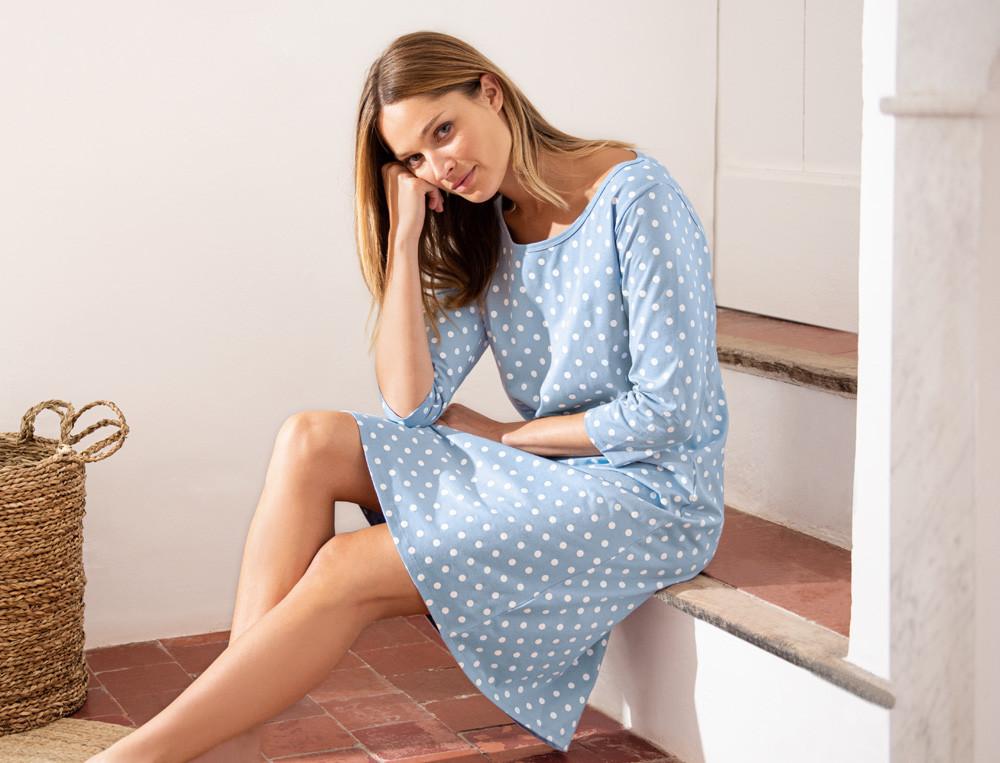 Chemise de nuit jersey coton Alexandra