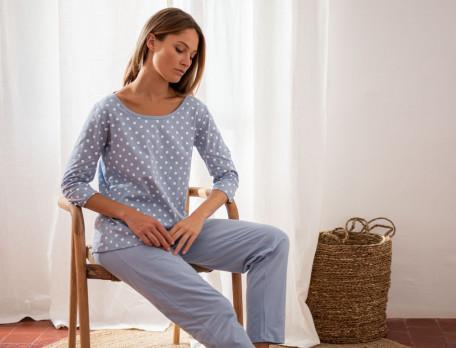 Pyjama jersey coton Alexandra