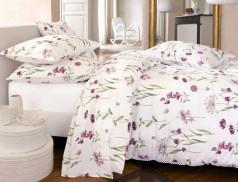 Linge de lit imprimé fleuri Anne-Flore