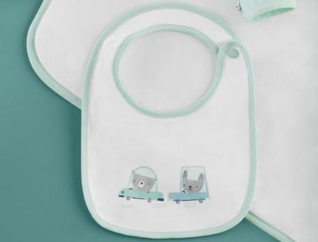 Baby-Set Auf Reisen Baumwolle Linvosges
