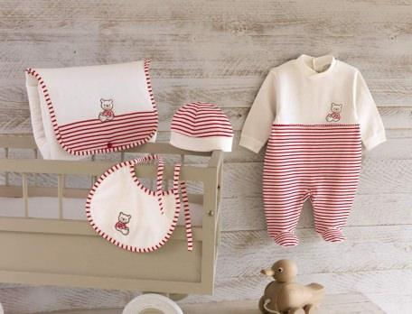 Babykleidung Baby-Set Strampler Schlafsack Baumwolle