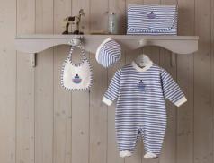 Babykleidung Kleiner Dampfer Linvosges