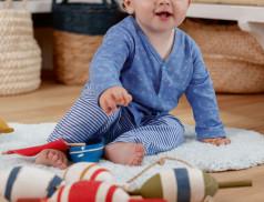 Babykleidung Kleines Fischlein Linvosges Baumwolle