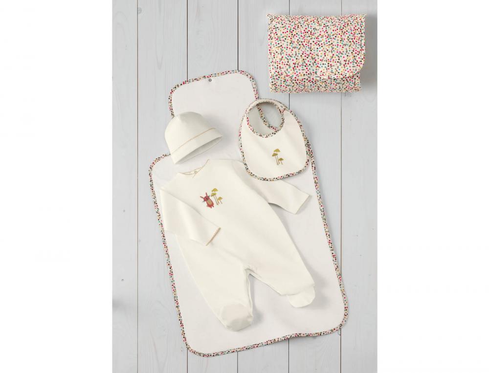 Babykleidung Waldspaziergang Baby-Set Strampler Kurzer Strampler Baumwolle Jersey