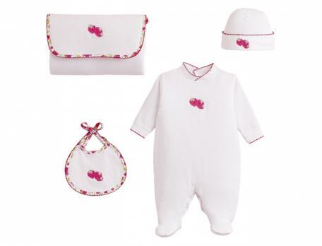 Babykleidung Zuckerbeere Linvosges Baumwolle