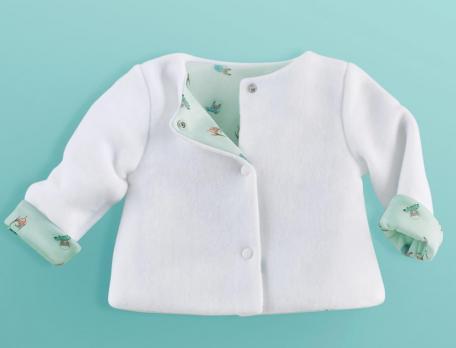 Babys Jacke Auf Reisen Polyester Linvosges