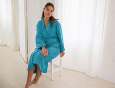 Frottee Kimono Bademantel