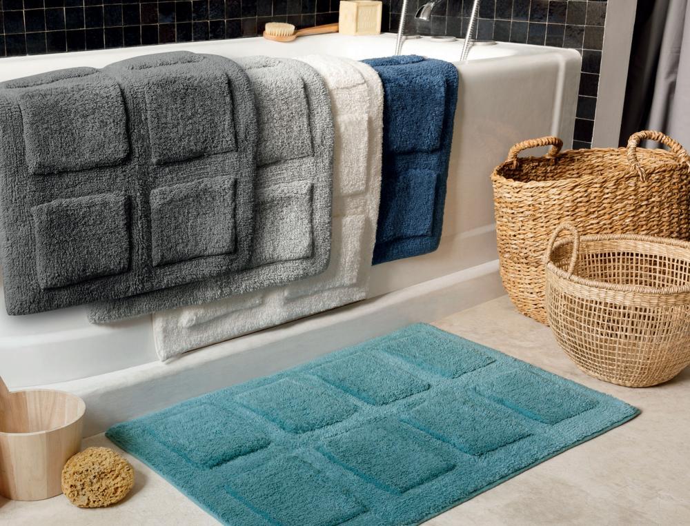 Badematte einfarbig Bath Baumwolle Linvosges