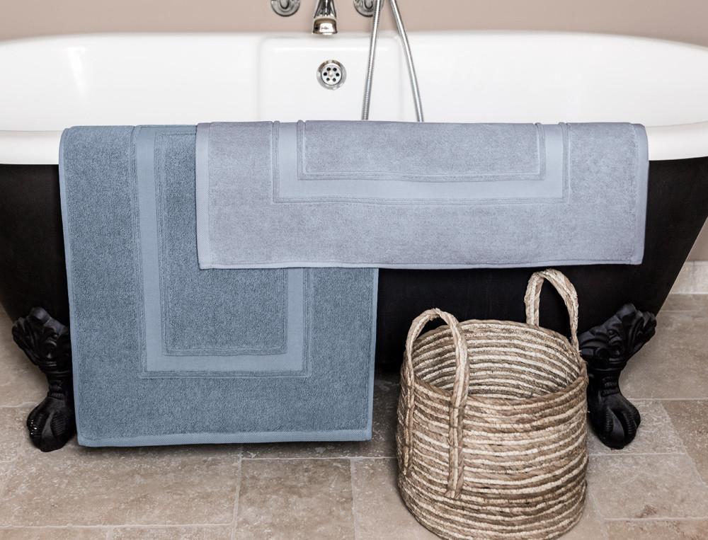 Badematte einfarbig Entspannungsoase Baumwolle Linvosges