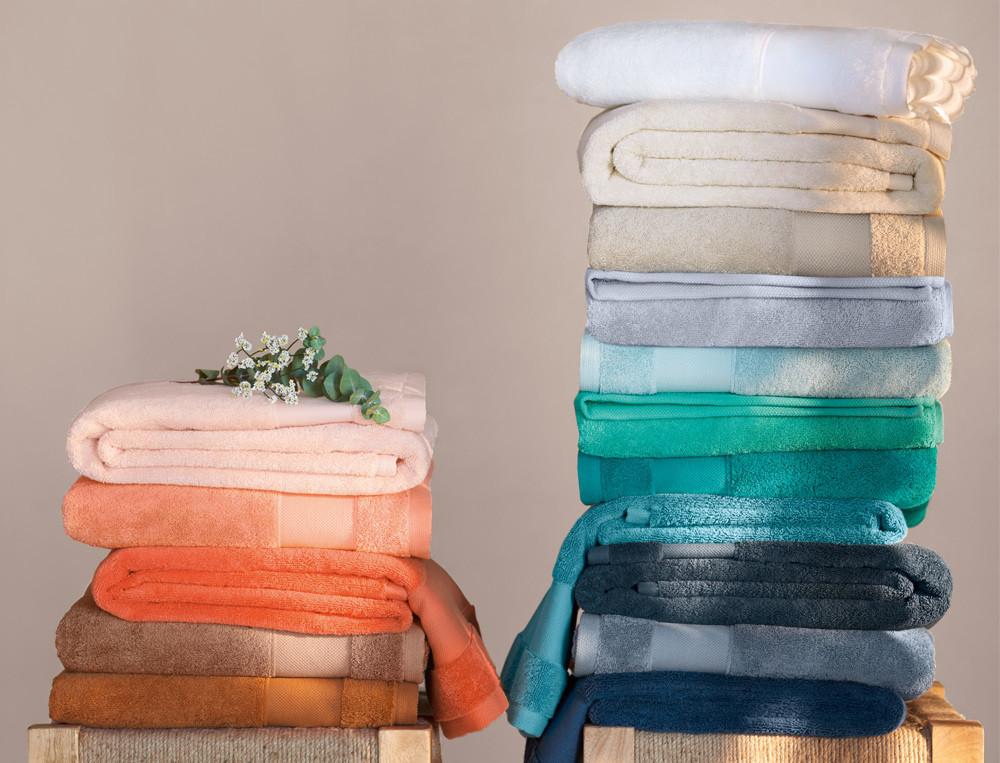 Badtextilien einfarbig Entspannungsoase Baumwolle Linvosges
