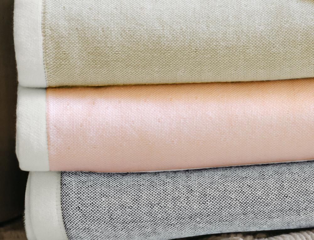 Badtextilien Einklang Baumwolle Baumbus Linvosges