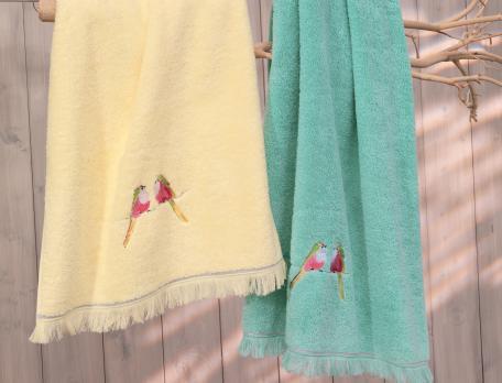 Badtextilien Frühlingserwachen Baumwolle