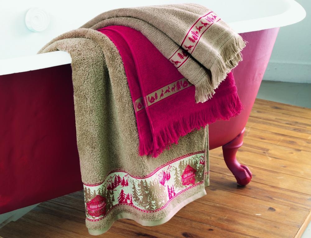 badtextilien mit motiv h ttenzauber linvosges. Black Bedroom Furniture Sets. Home Design Ideas