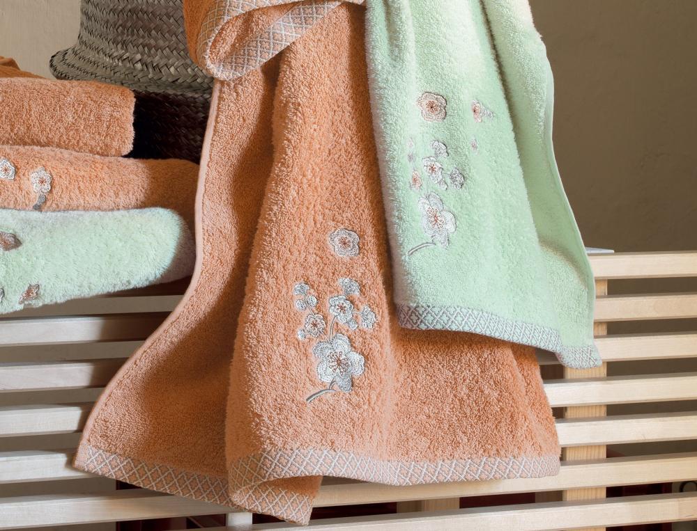 badtextilien mit motiv ikebana linvosges. Black Bedroom Furniture Sets. Home Design Ideas