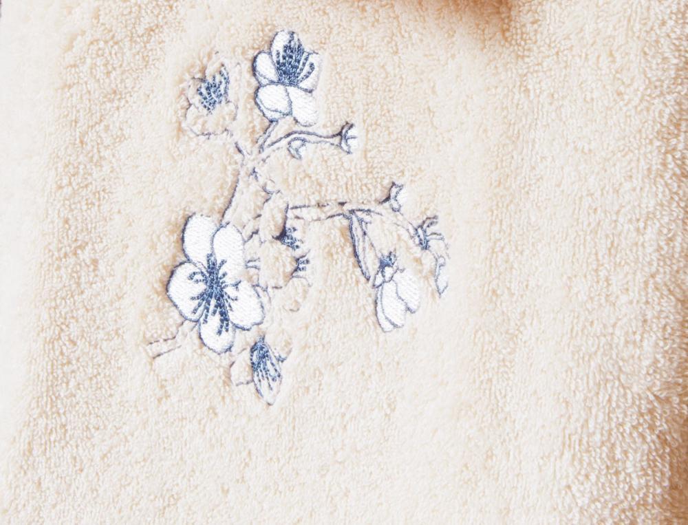 Badtextilien Japanische Blüte Baumwolle
