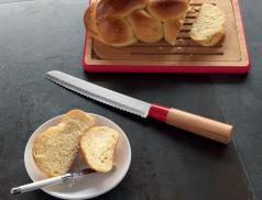 Couteau manche en Bambou