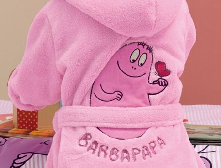 Peignoir enfant Barbapapa