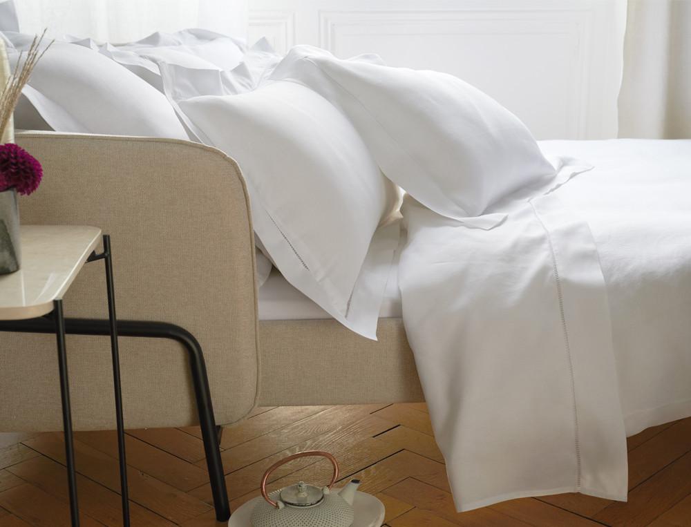 Baumwoll-Leinen Bettwäsche