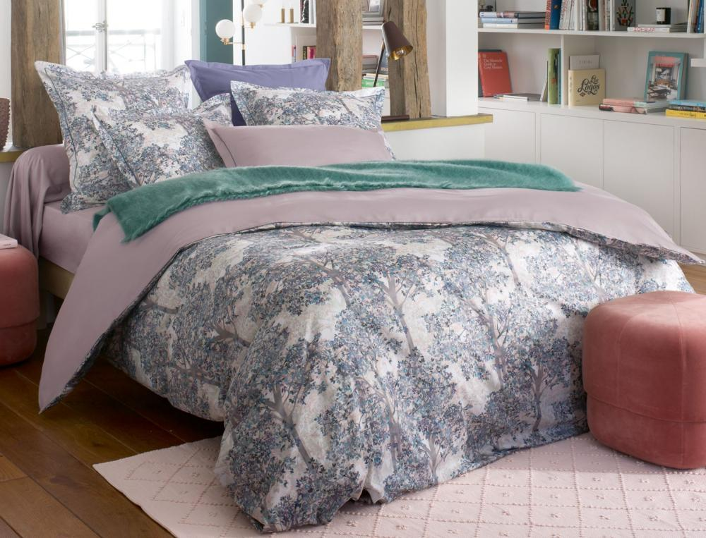 Bettwäsche Blättertraum Linvosges Baumwolle
