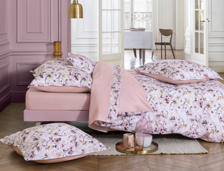 Bettwäsche Blütenpracht Baumwolle Linvosges