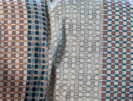 Bettwäsche geometrische Motive Domino