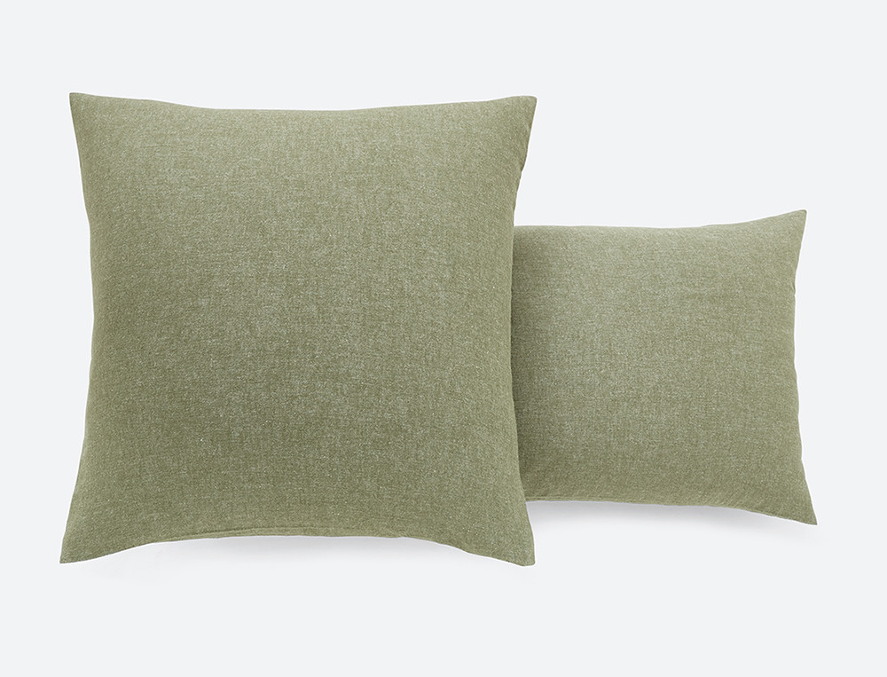 Bettwäsche einfarbig Flanell Baumwolle Linvosges