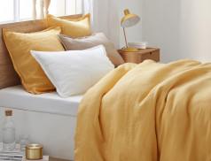 Bettwäsche einfarbig Leinen Linvosges