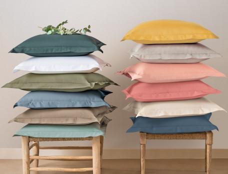 Bettwäsche einfarbig Perkal Linvosges