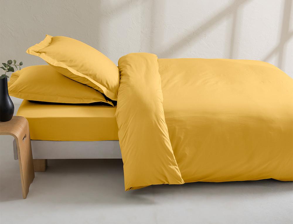 Bettwäsche einfarbig Perkal