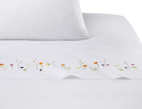 Bettwäsche Kleine Blüte aus Baumwolle